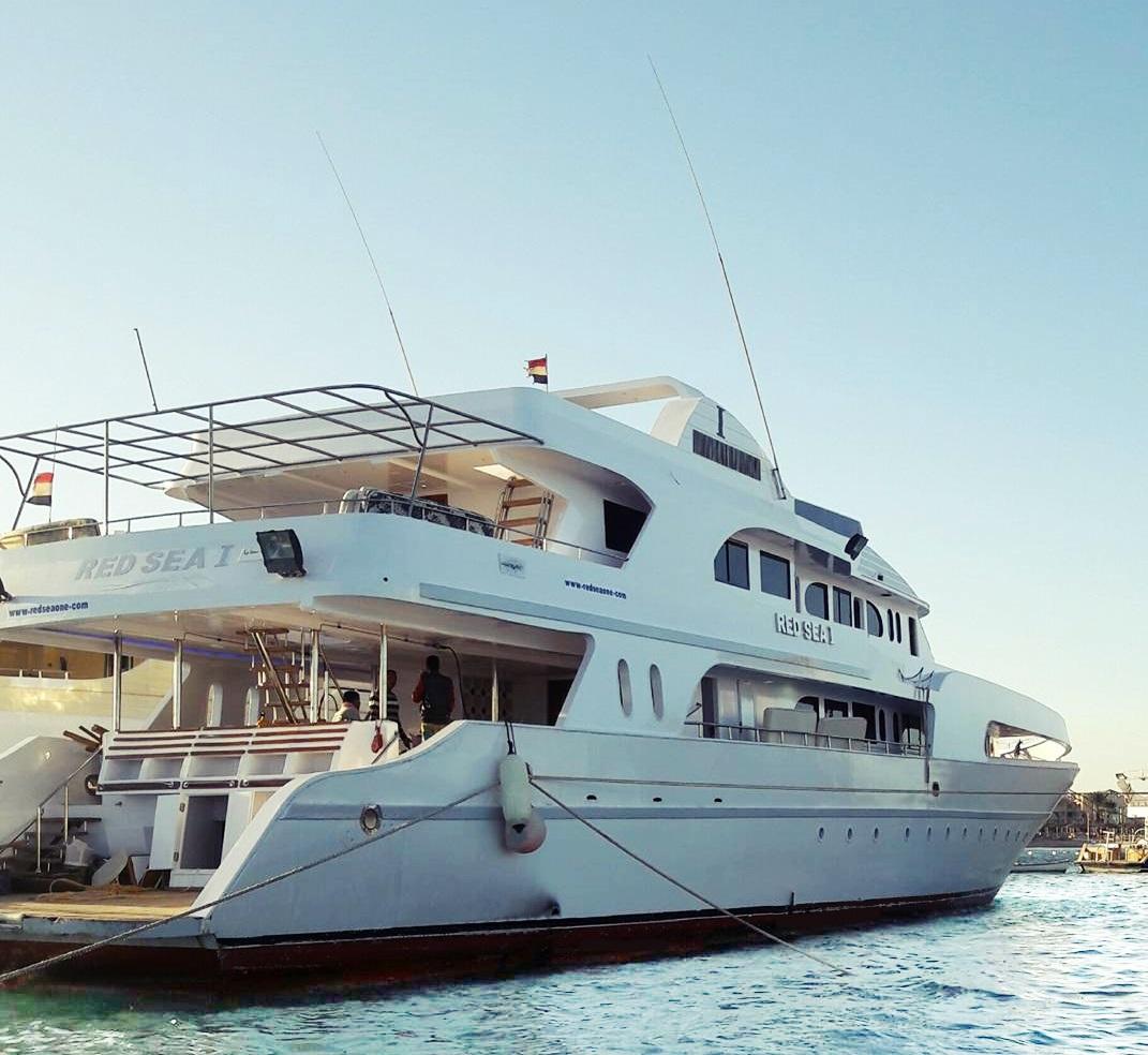 Zdjęcie naszej łodzi